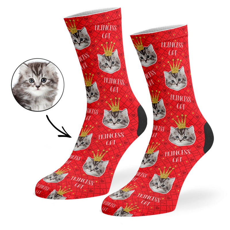 Princess Cat Socks