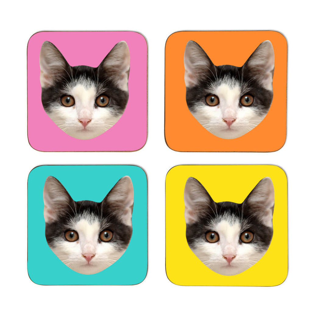 Your Cat Coasters - Colour Sets