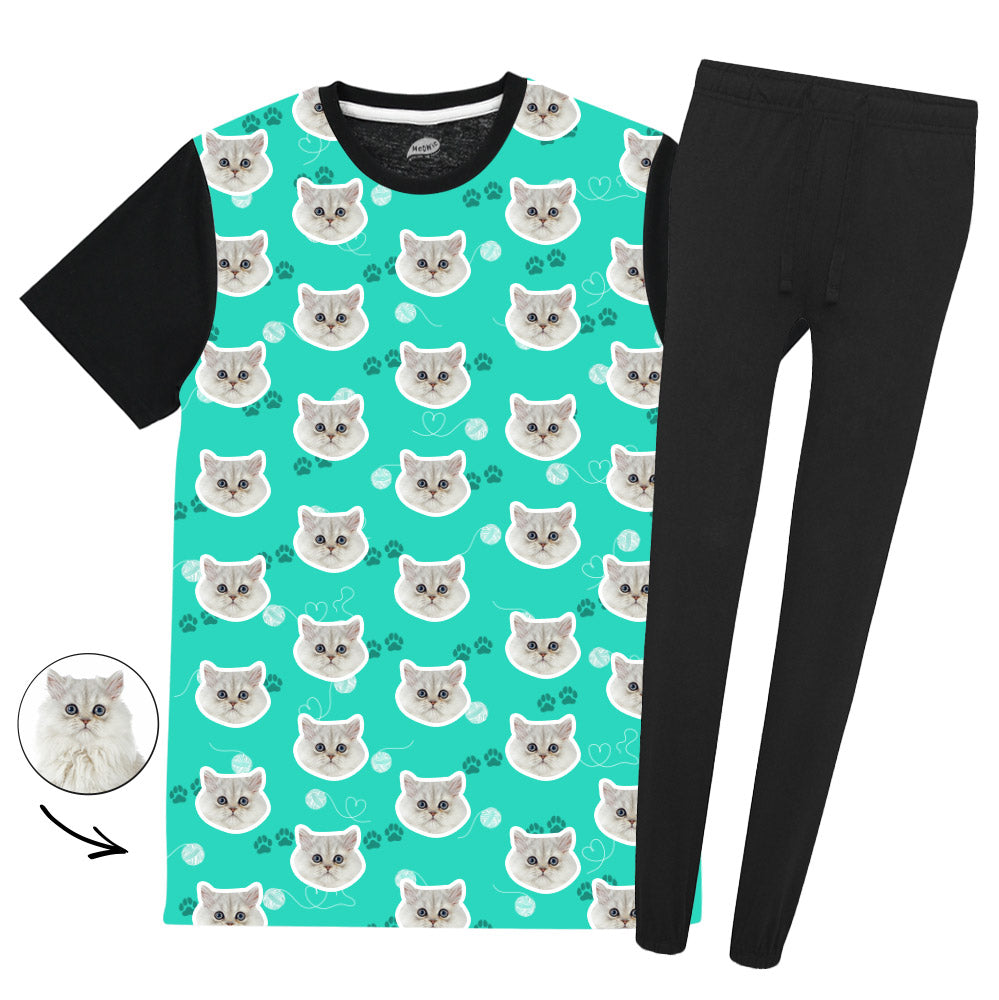 Your Cat Ladies Colour Pyjama Set