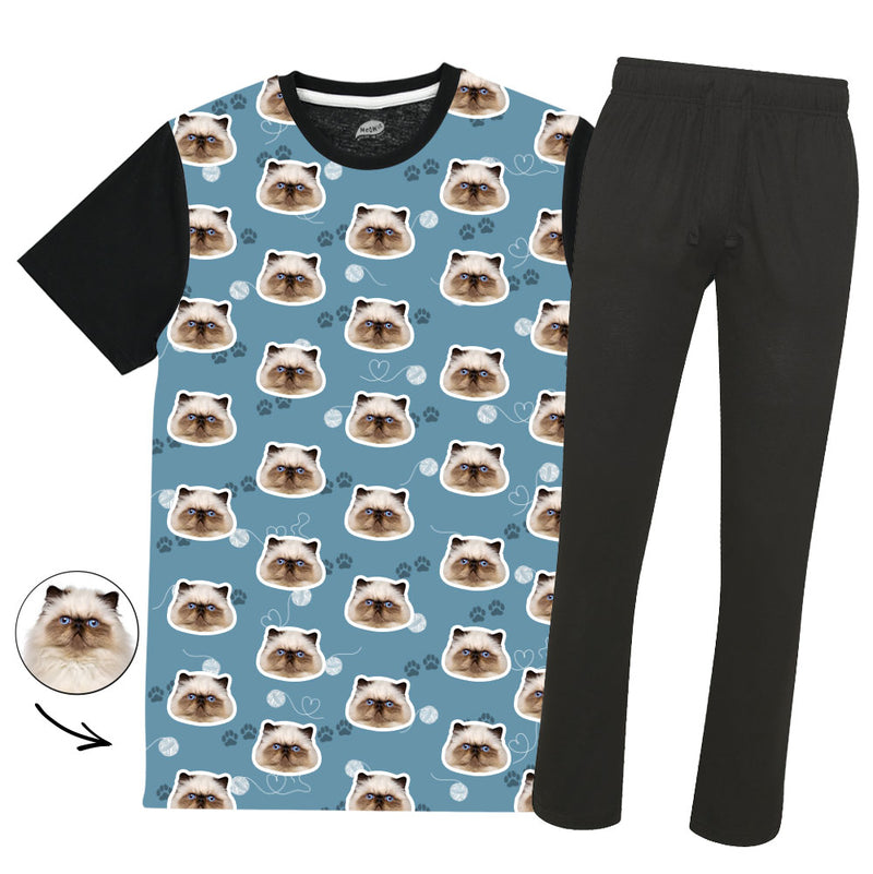 Your Cat Mens Colour Pyjama Set