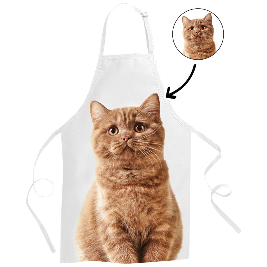 Your Cat Face Apron