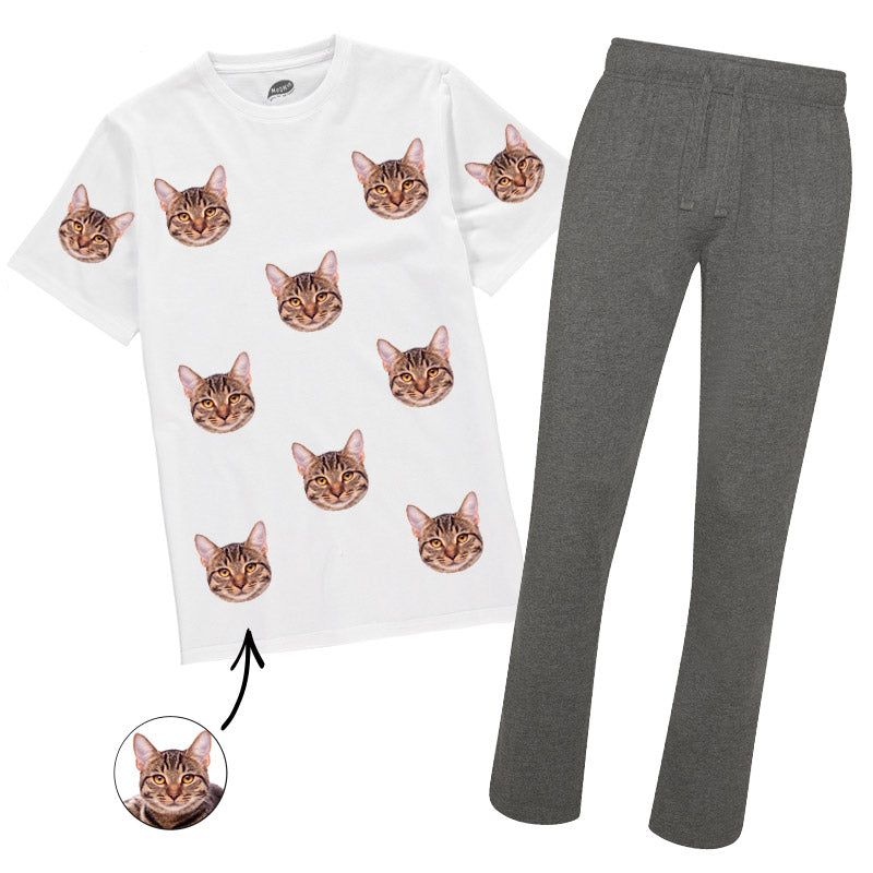 Your Cat Mens Pyjamas