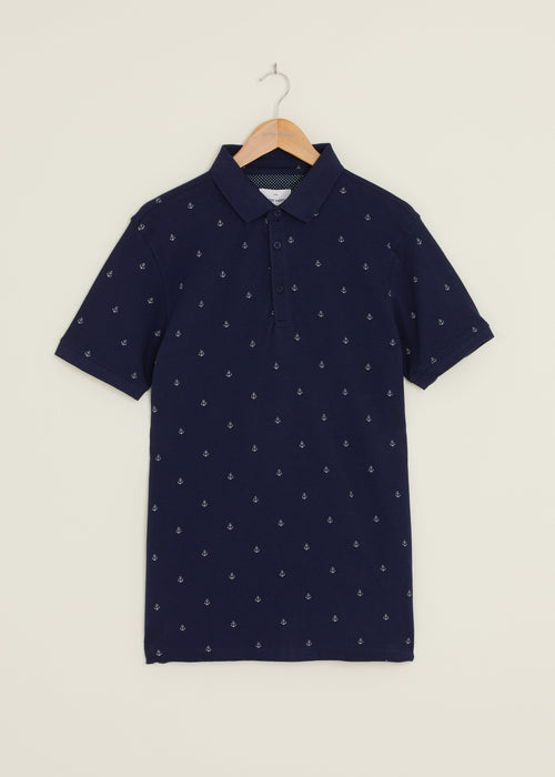 Ahoy Polo Shirt - Navy