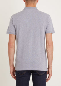 Albemarle Polo Shirt - Grey Marl