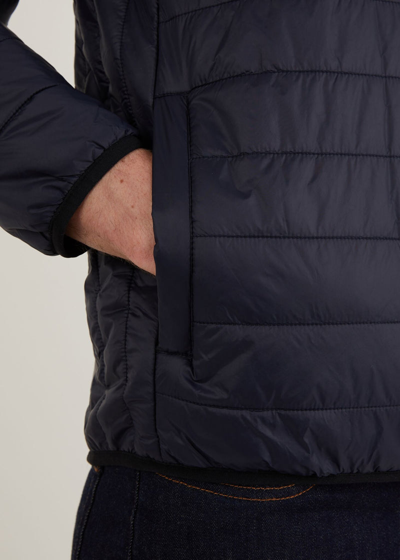 Anasonica Padded Jacket - Navy