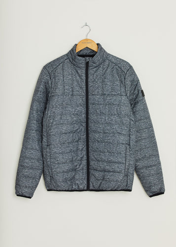 Anasonica Padded Jacket - Grey Marl