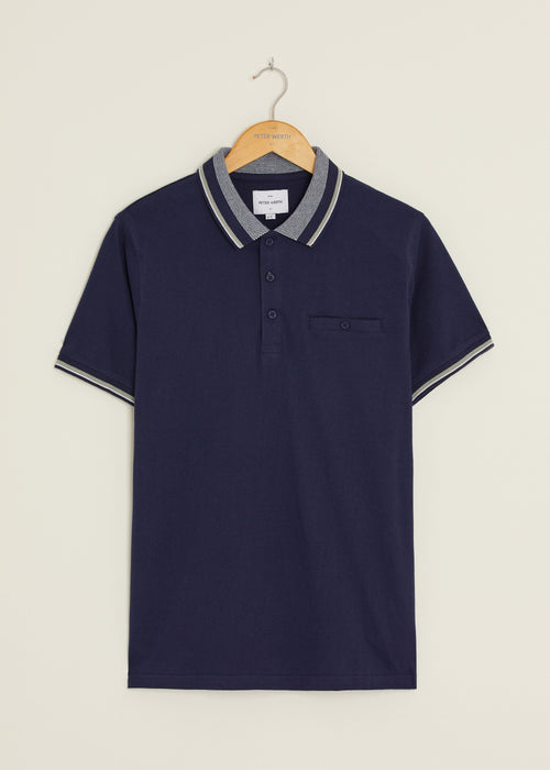 Balfe Polo Shirt - Navy