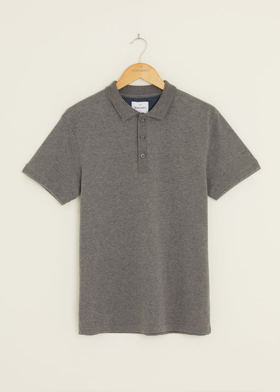 Baran Polo Shirt - Grey