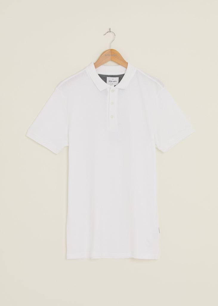 Baran Polo Shirt - White