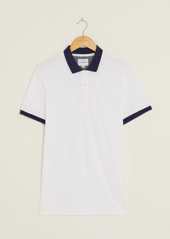 Corp Polo Shirt - White