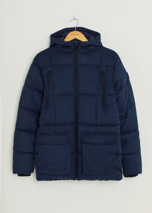 Damaschino Padded Jacket - Navy