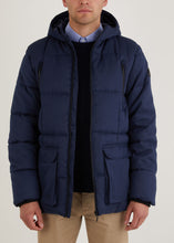 Load image into Gallery viewer, Damaschino Padded Jacket - Navy