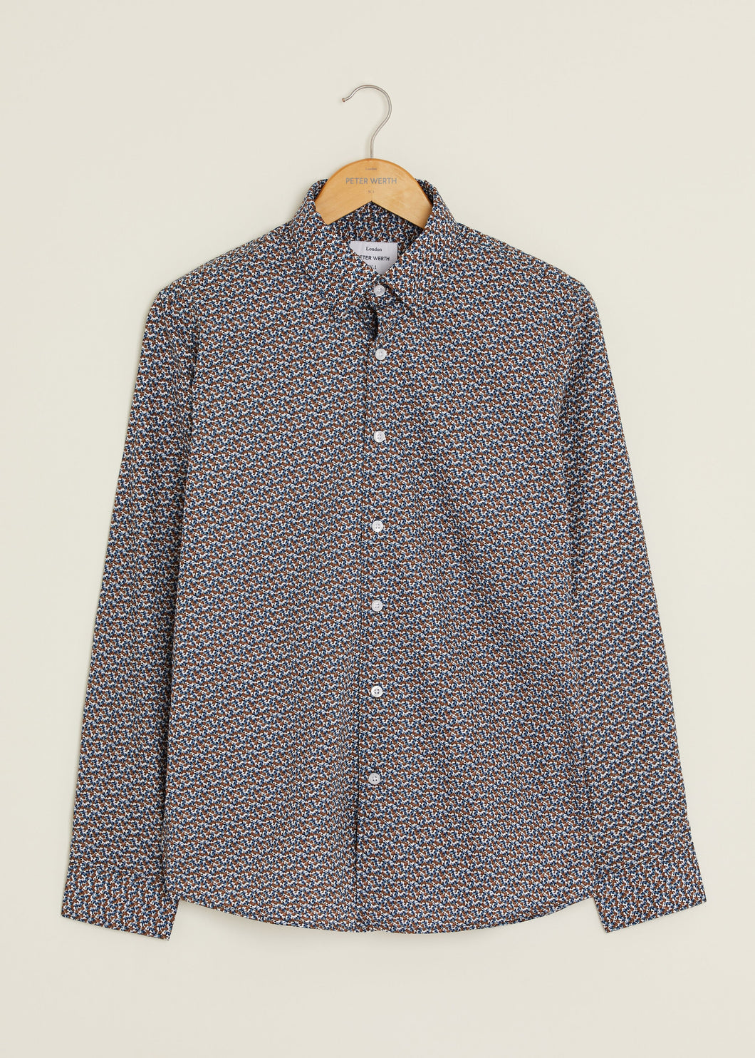 Gray Long Sleeved Shirt - Multi