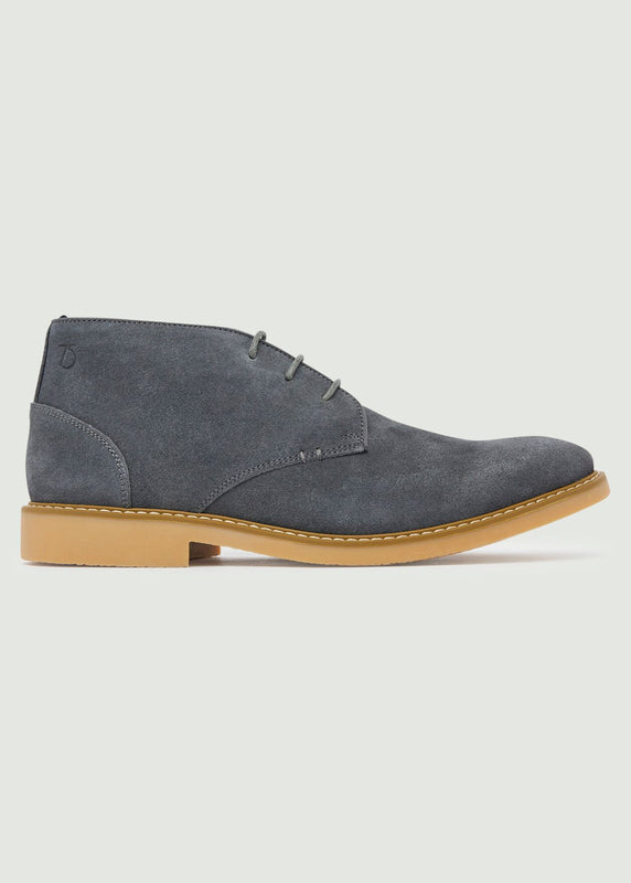 Idris Desert Boot - Grey