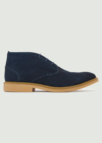 Idris Desert Boot - Navy