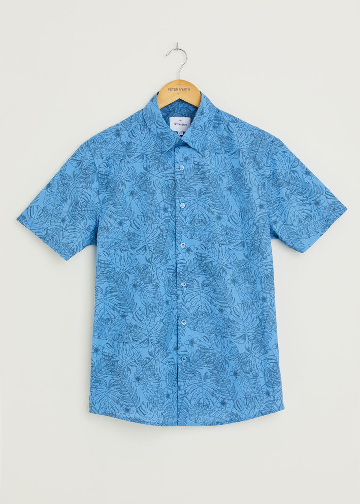 Keating Short Sleeve Shirt - Blue