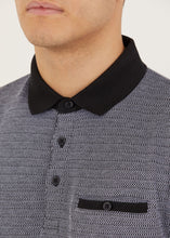 Load image into Gallery viewer, Lowfield Polo Shirt - Grey/Black