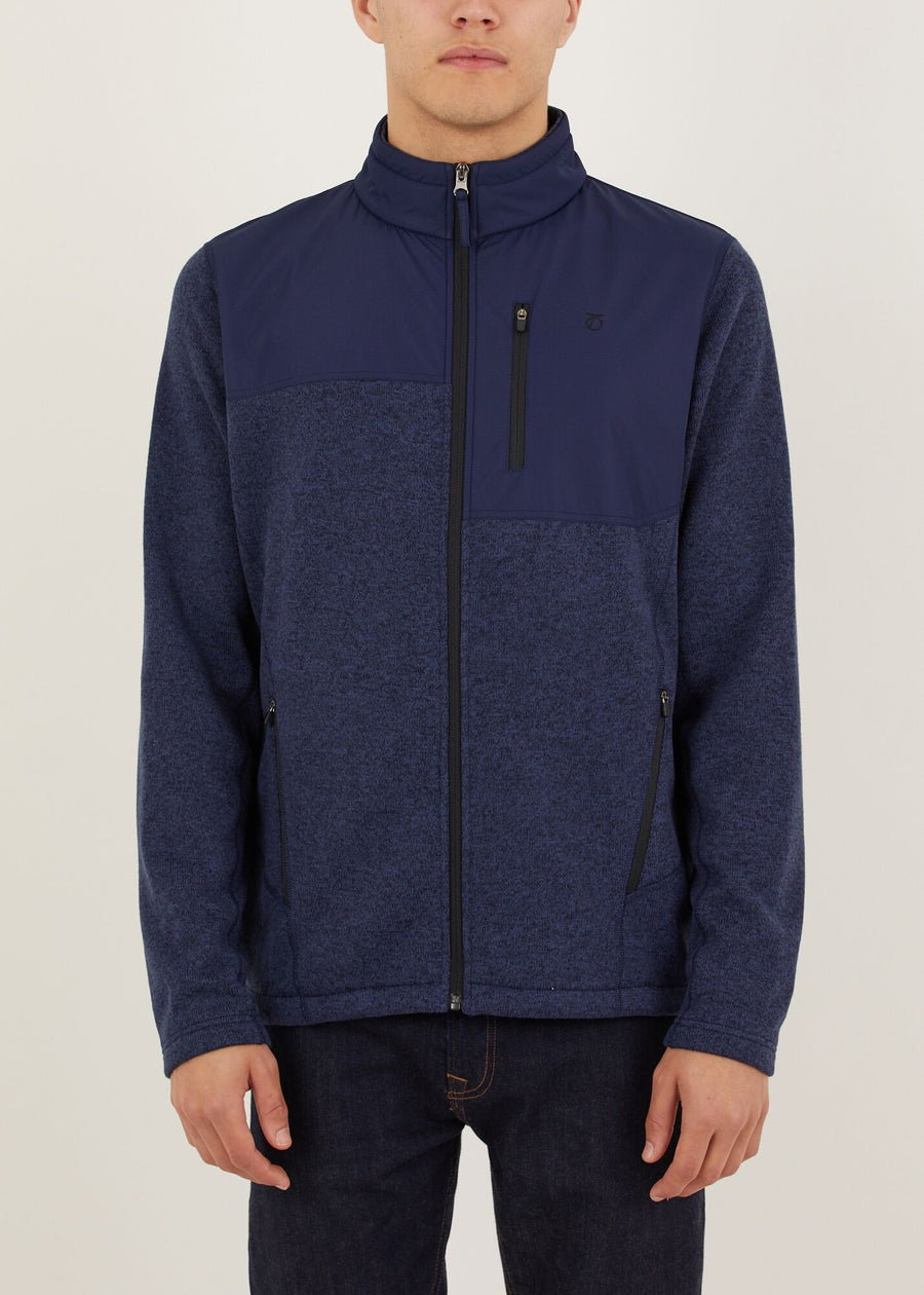 Mackay Fleece Jacket - Navy