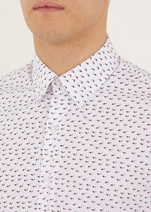 Morse Long Sleeved Shirt - White