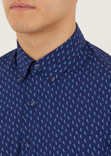 Load image into Gallery viewer, Morse Long Sleeved Shirt - Navy