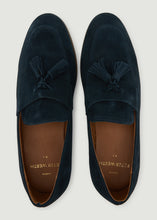 Load image into Gallery viewer, Moorhouse Loafers - Navy