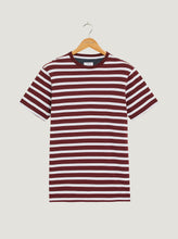 Load image into Gallery viewer, Gibson T-Shirt - Burgundy/White