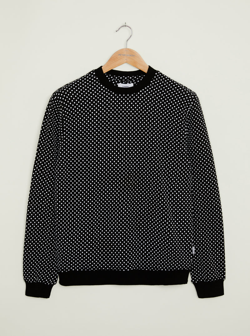 Ingram Crew Sweatshirt - Black