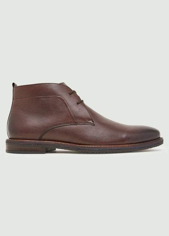 Abel Desert Boot - Oxblood