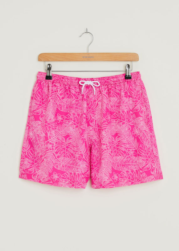 Quadrant Swim Shorts - Pink