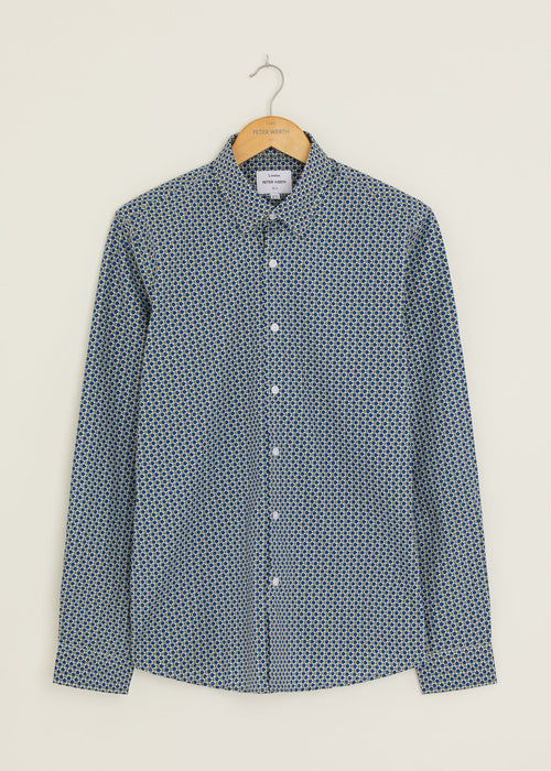 River Long Sleeved Shirt - Blue