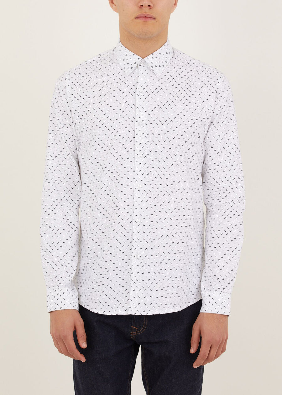 Thornhill Long Sleeved Shirt - White