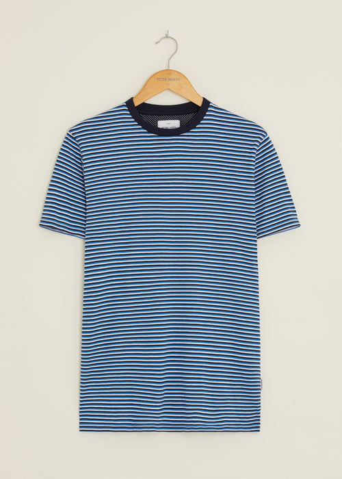 Valley T-Shirt -  Blue