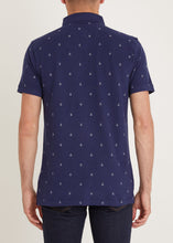 Load image into Gallery viewer, Ahoy Polo Shirt - Navy
