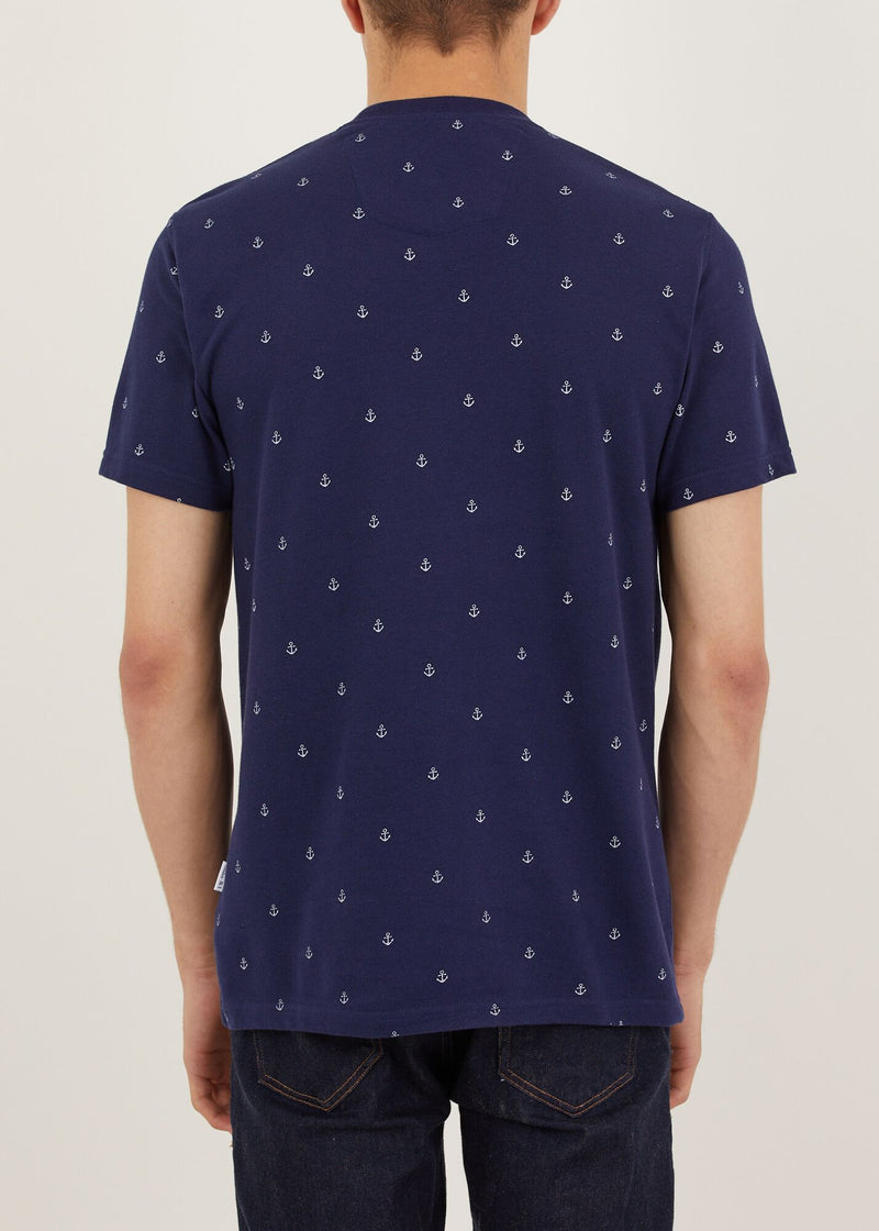Anchorage T-Shirt - Navy