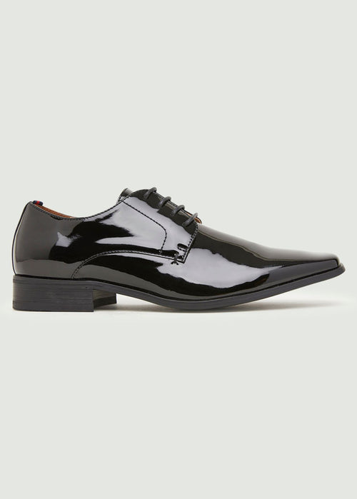 Axel Derby Shoe - Black