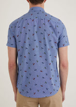 Load image into Gallery viewer, Beacon Short Sleeve Shirt - Blue