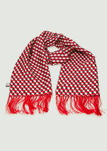 Load image into Gallery viewer, Bemerton Box Print Scarf - Red