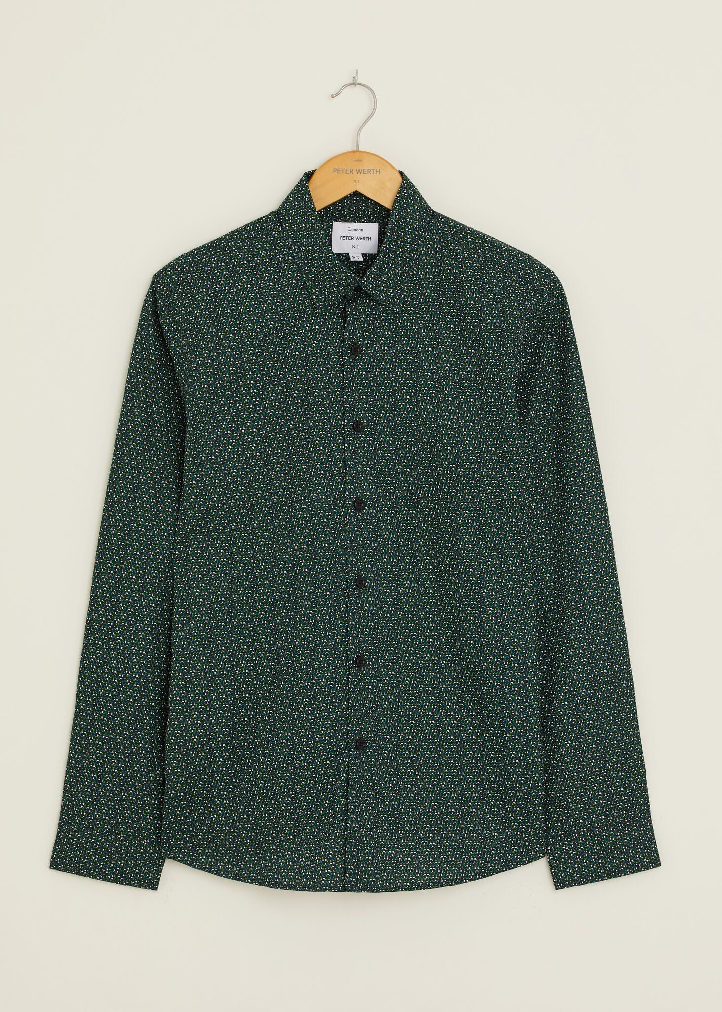 Calder Long Sleeved Shirt - Green