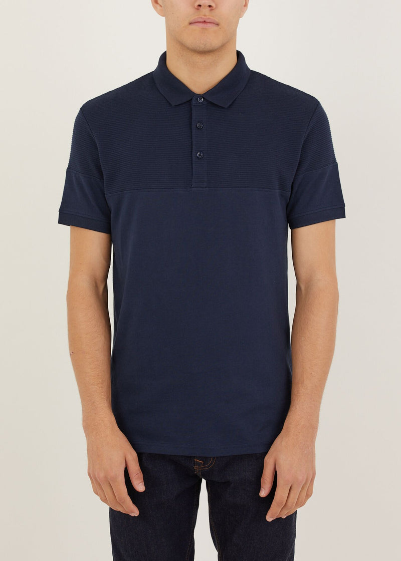 Chester Polo Shirt - Dark Navy