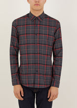 Load image into Gallery viewer, Cornwallis Long Sleeved Shirt - Grey/Red