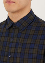 Load image into Gallery viewer, Dutton Long Sleeved Shirt - Navy
