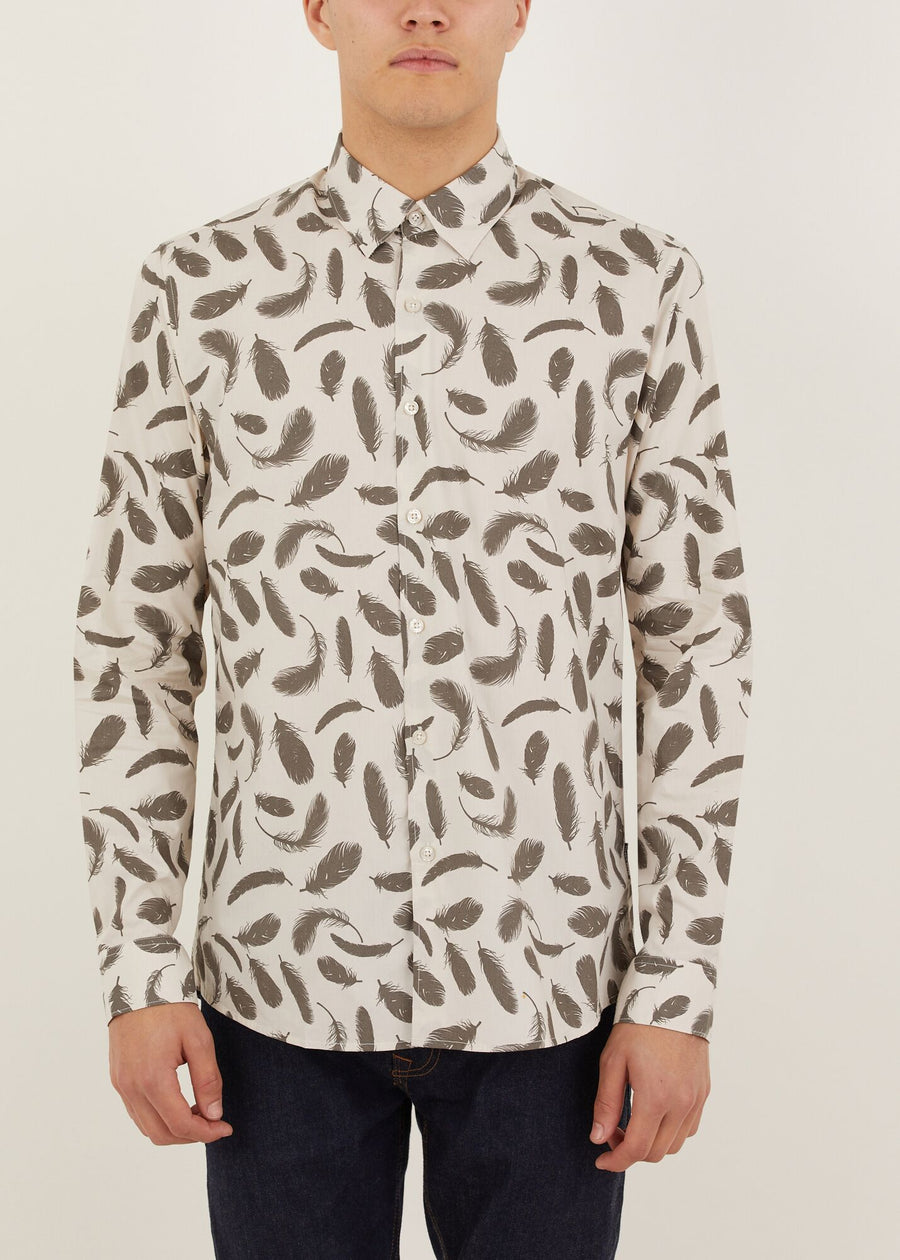 Elm Long Sleeved Shirt - Off White