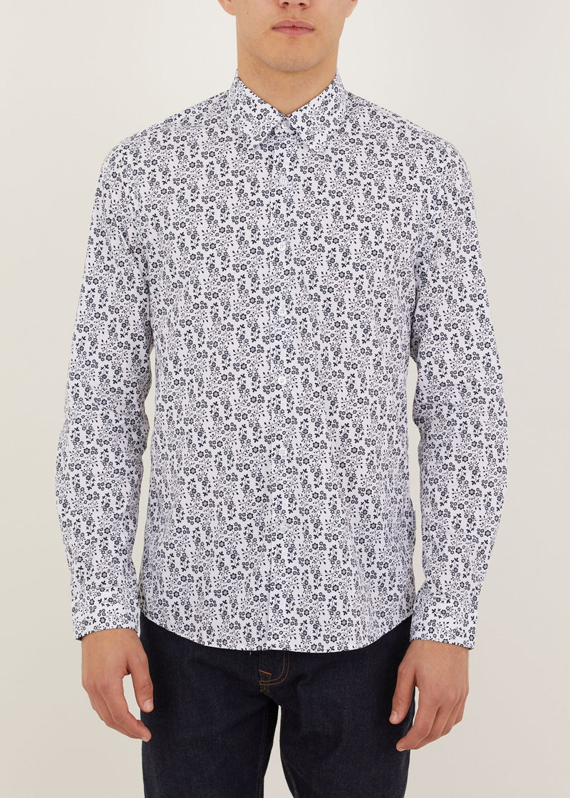 Falcon Long Sleeved Shirt - White