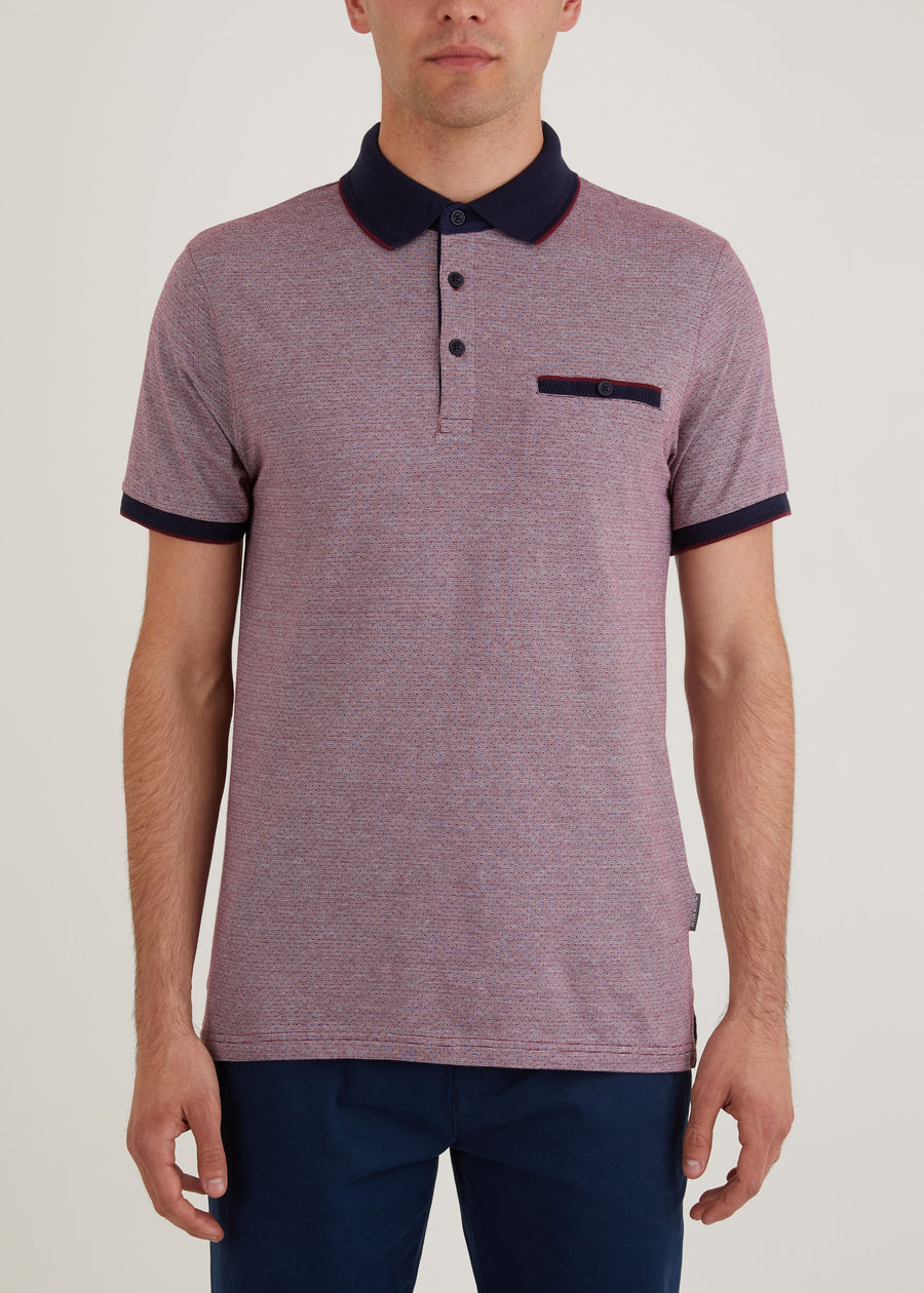 Farringdon Polo Shirt - Red