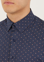 Load image into Gallery viewer, Ferris Long Sleeved Shirt - Navy