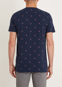Flamingo T-Shirt - Navy