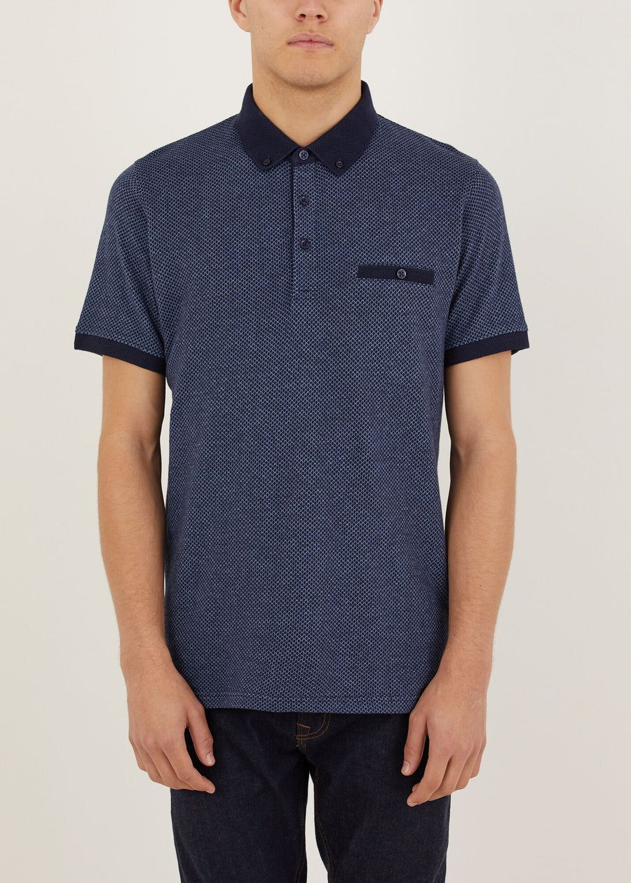 Glasshouse Polo Shirt - Navy