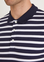Load image into Gallery viewer, Gresley Polo Shirt - Navy/White