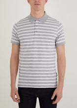 Load image into Gallery viewer, Gresley Polo Shirt - Grey/White