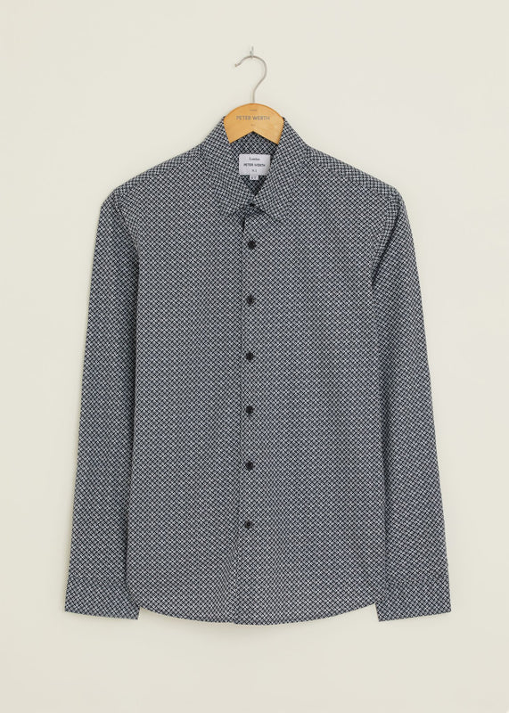 Home Long Sleeved Shirt - Navy
